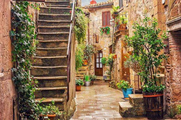 Borgo di Pitigliano - centro storico