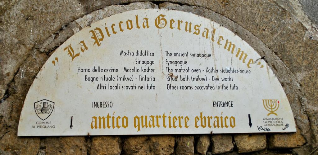 borgo di Pirignano - ghetto ebraico