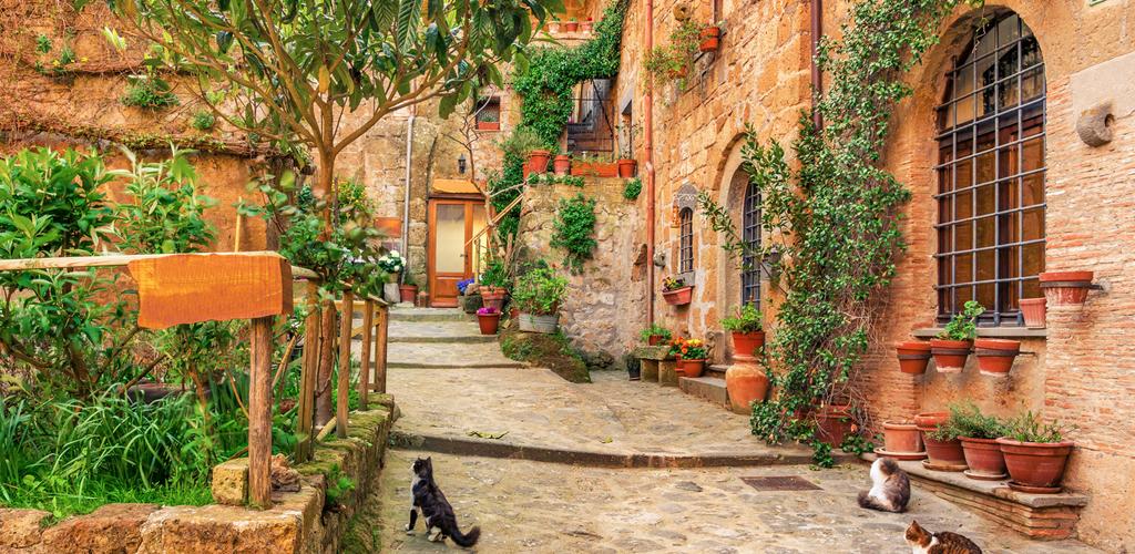 borgo di Pirignano - vicoli del centro storico