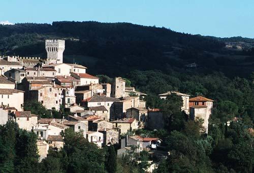 Borgo di San Casciano dei Bagni - Panoramica