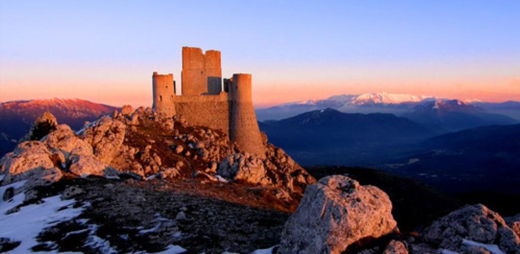 Castello di Rocca Calascio - borgo di Santo Stefano di Sessanio