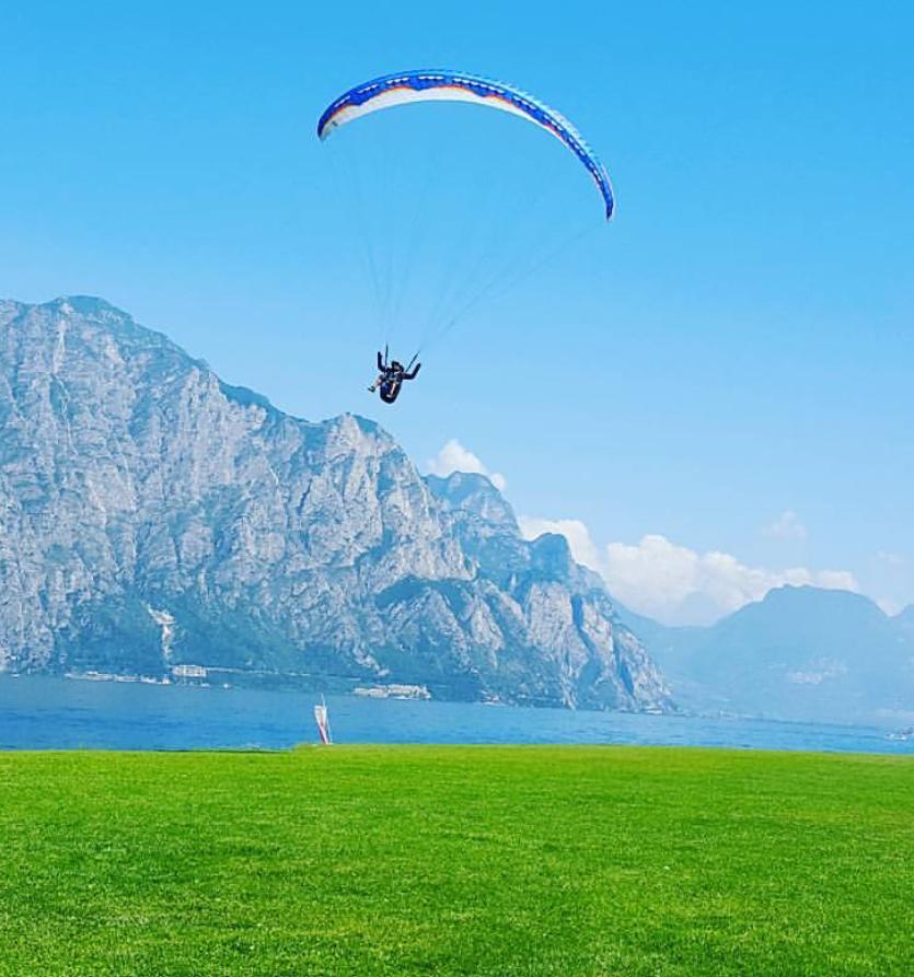 Parapendio al Lago di Garda