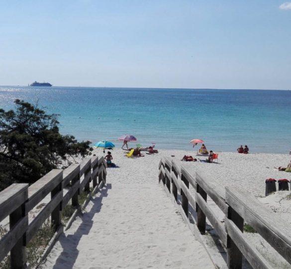 Spiaggia di Maria Pia Alghero