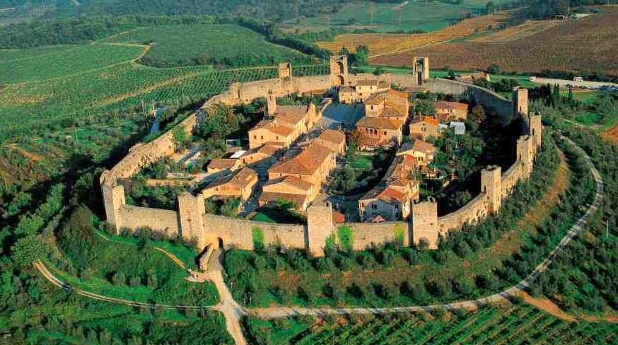 Borghi della Toscana - monteriggioni