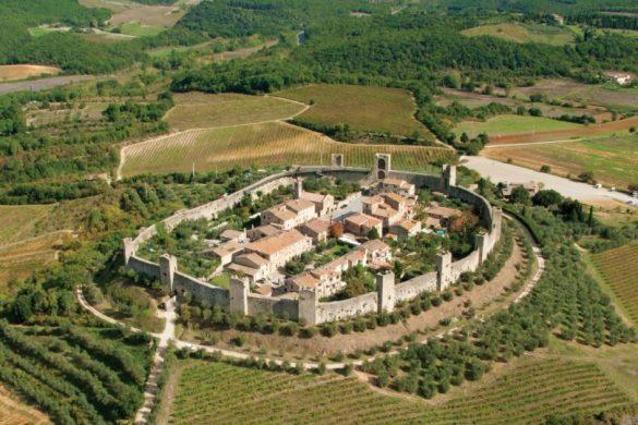 Borgo di Monteriggioni Panoramica