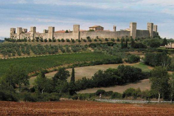 Borgo di Monteriggioni un castello