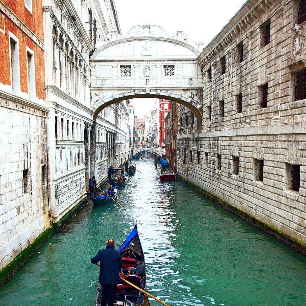Canali di Venezia Italia