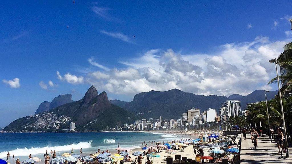 Ipanema Beach Rio de Janerio
