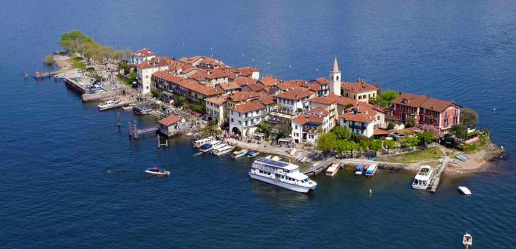 Isola Superiore anche detta isola dei Pescatori - Lago Maggiore