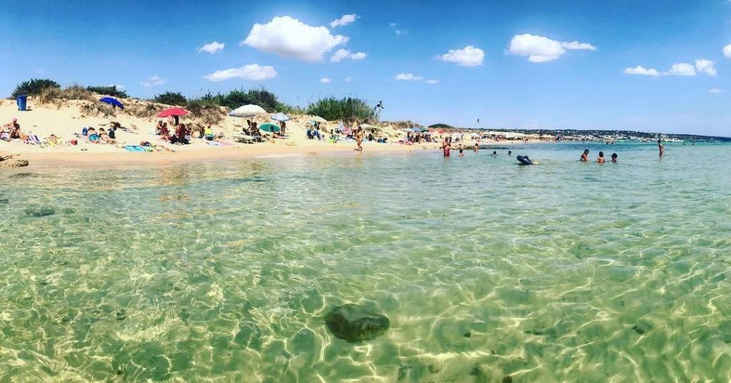 Spiaggia Marina di Pescoluse