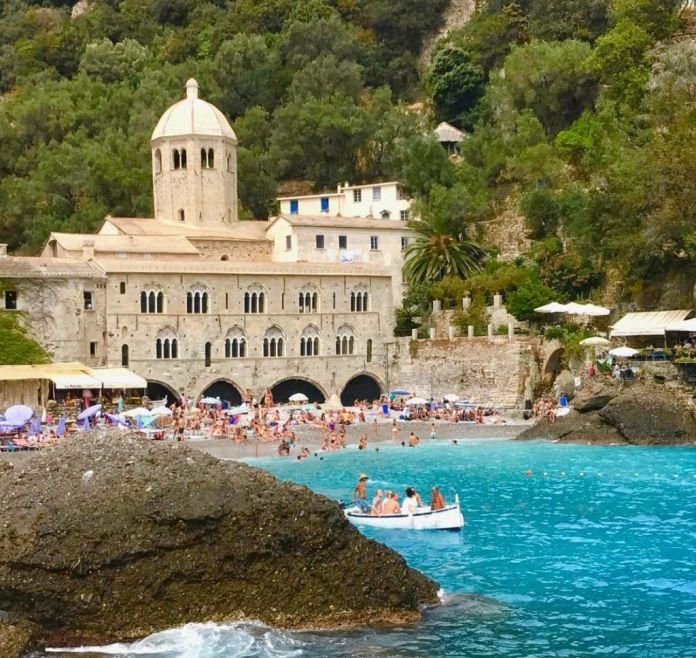 Spiaggia San Fruttuoso Liguria