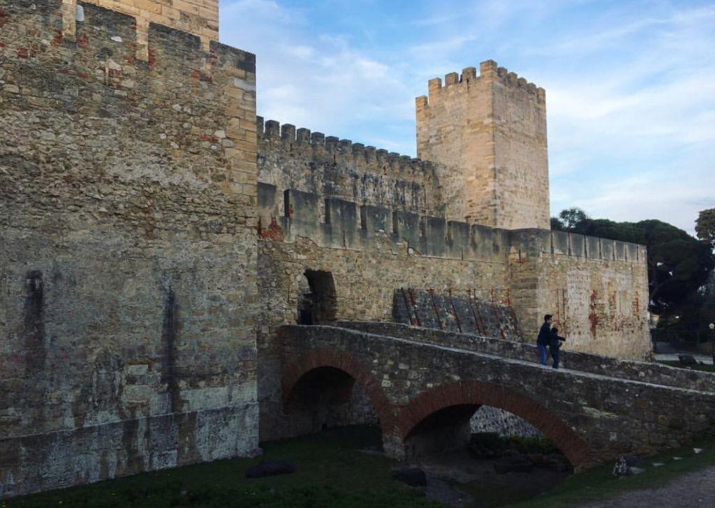 Castelo de São Jorge Lisbona