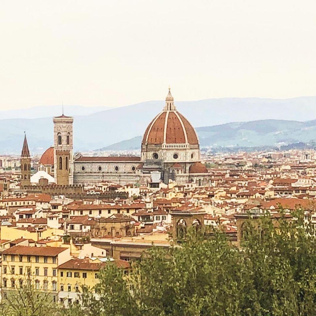 Foto da Piazzale Michelangelo Firenze
