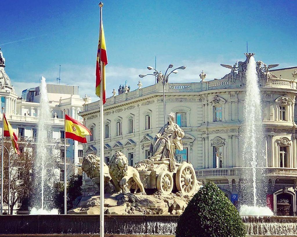 Fuente de Cibeles Madrid