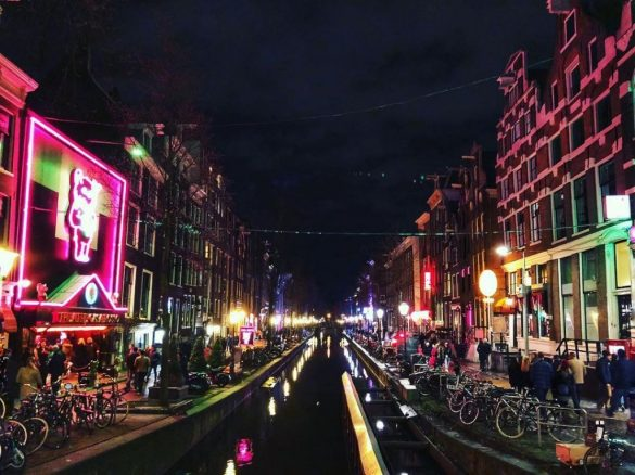 I quartieri a luci rosse di Amsterdam