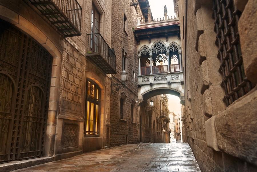 Il Barrio Gotico - Barcellona