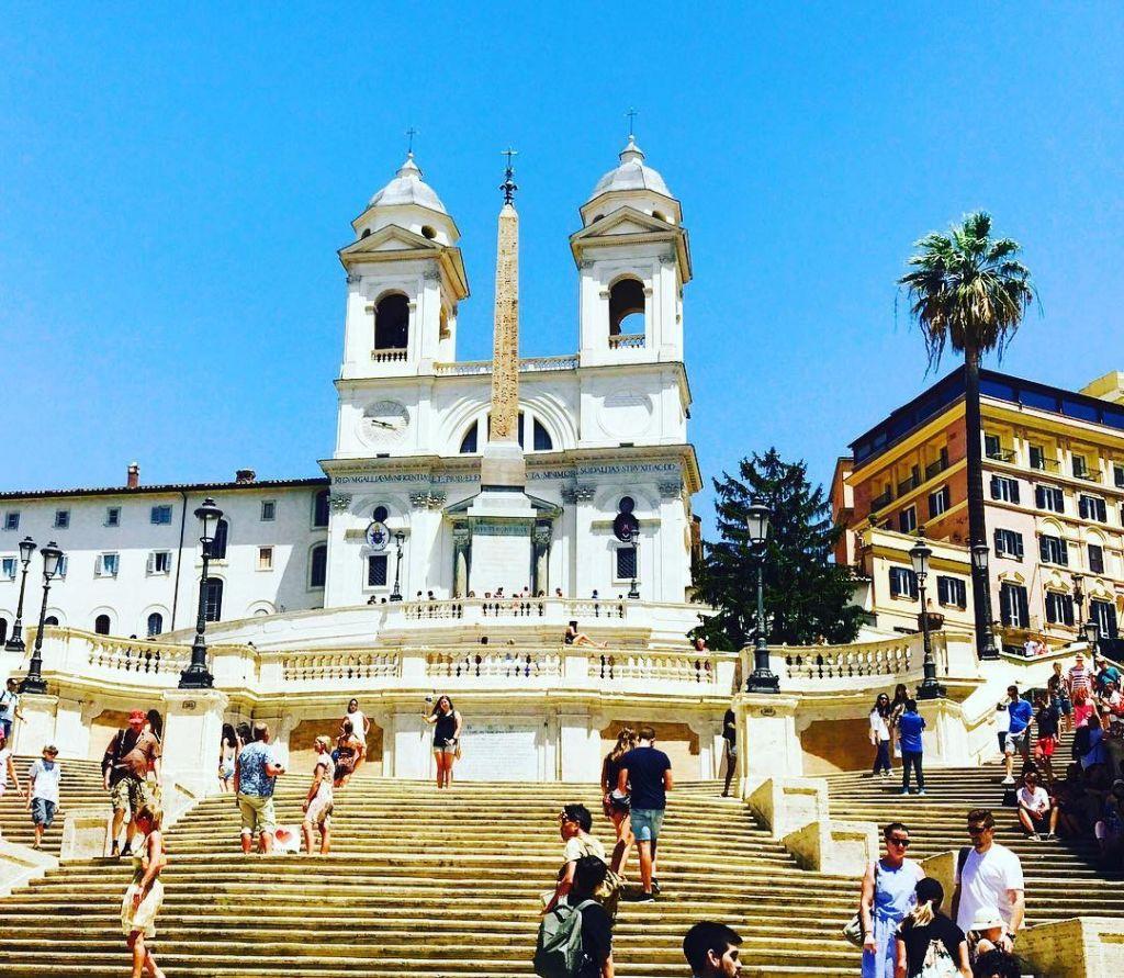 Scalinata Trinità dei Monti Roma