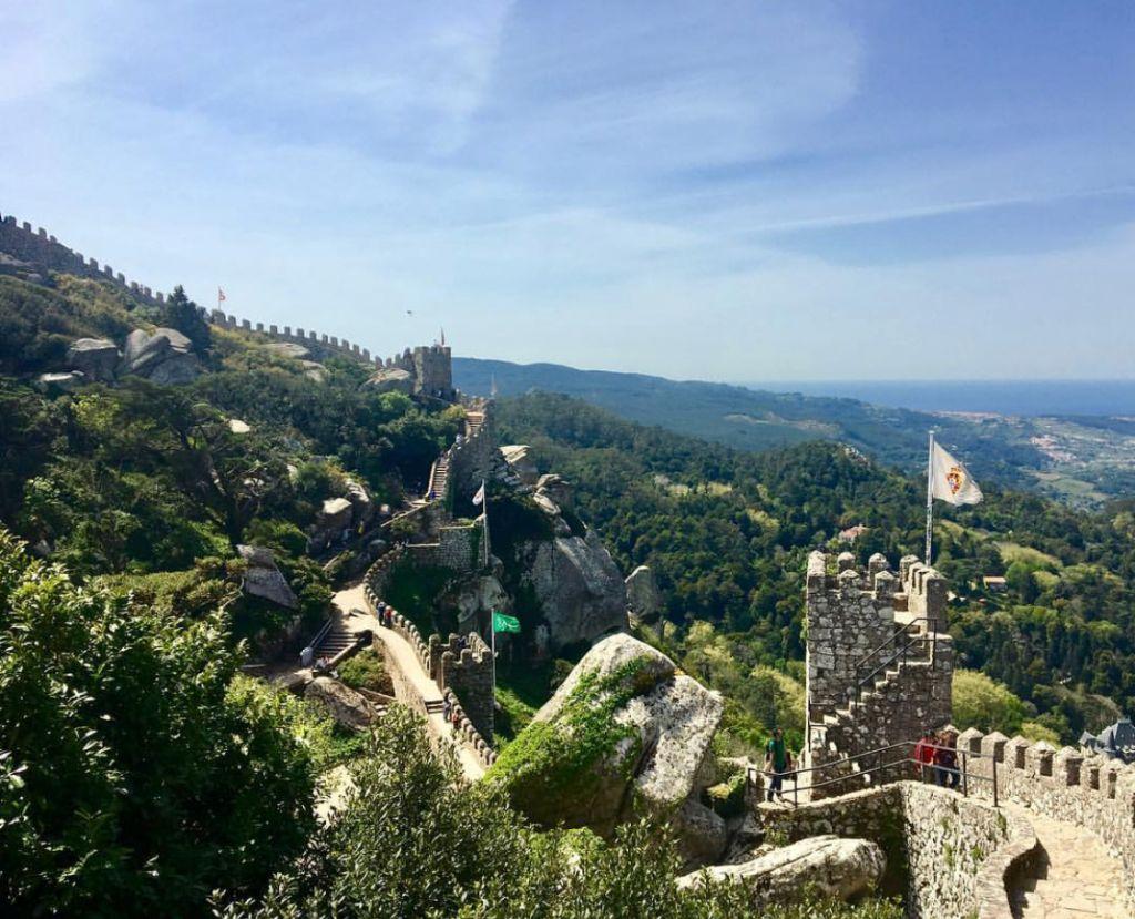 Sintra Castello Dos Mouros