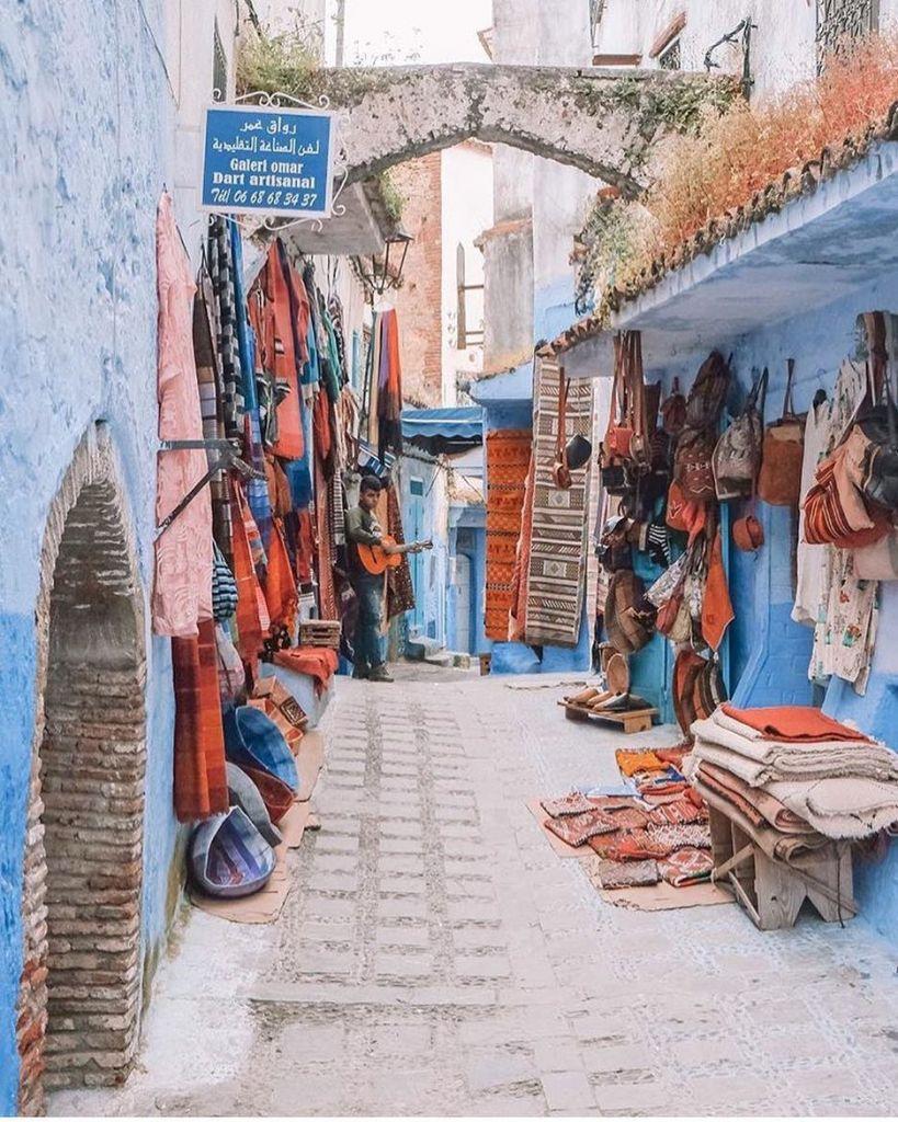 Marocco Quartiere Blu