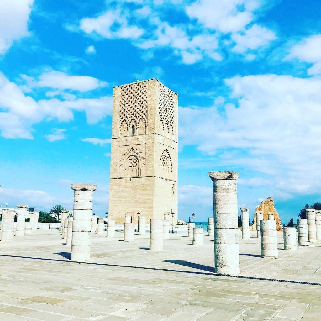 Torre di Hassan Marocco