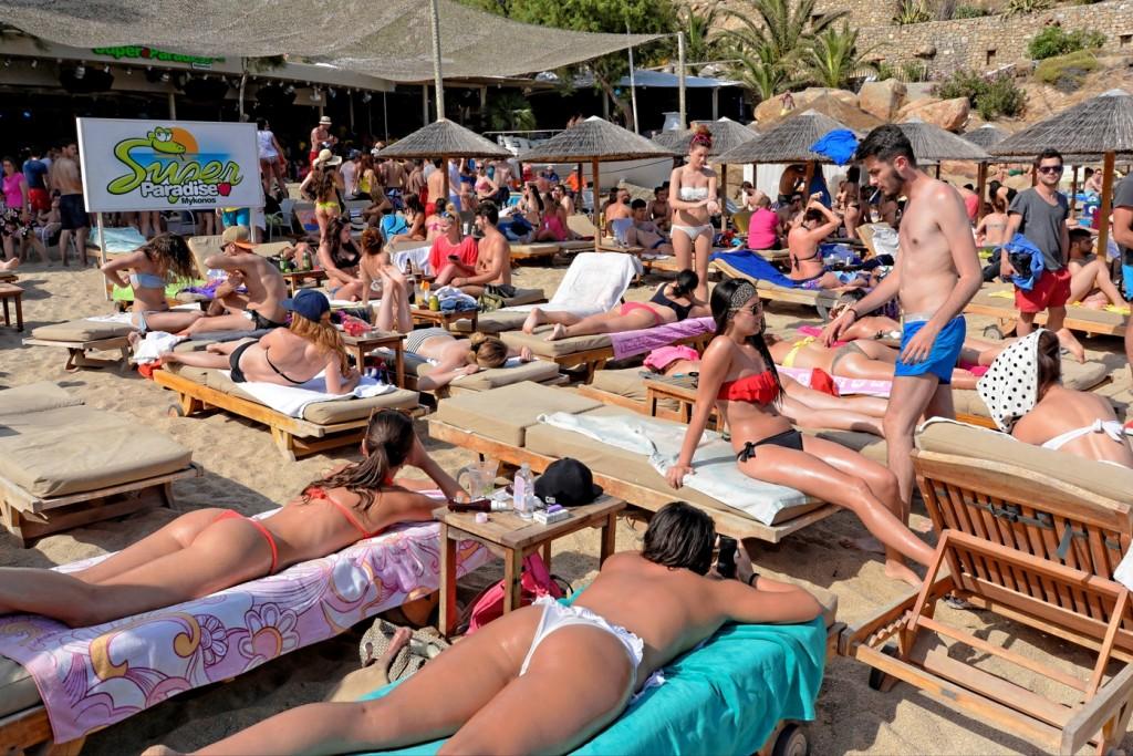 Mykonos super paradise - spiaggia