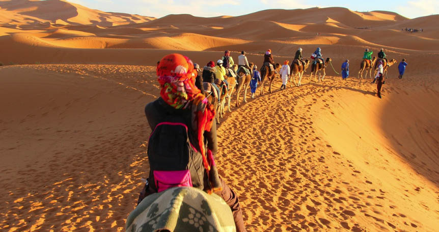 tour cammello marocco