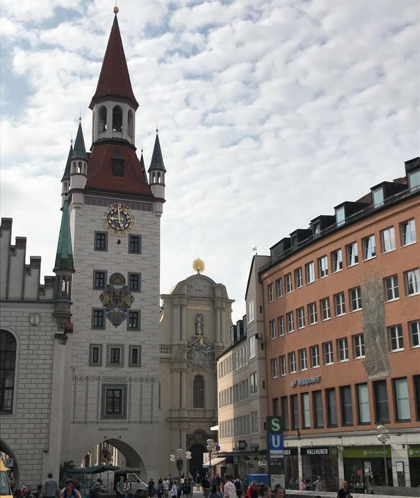 Altes Rathaus Monaco di Baviera