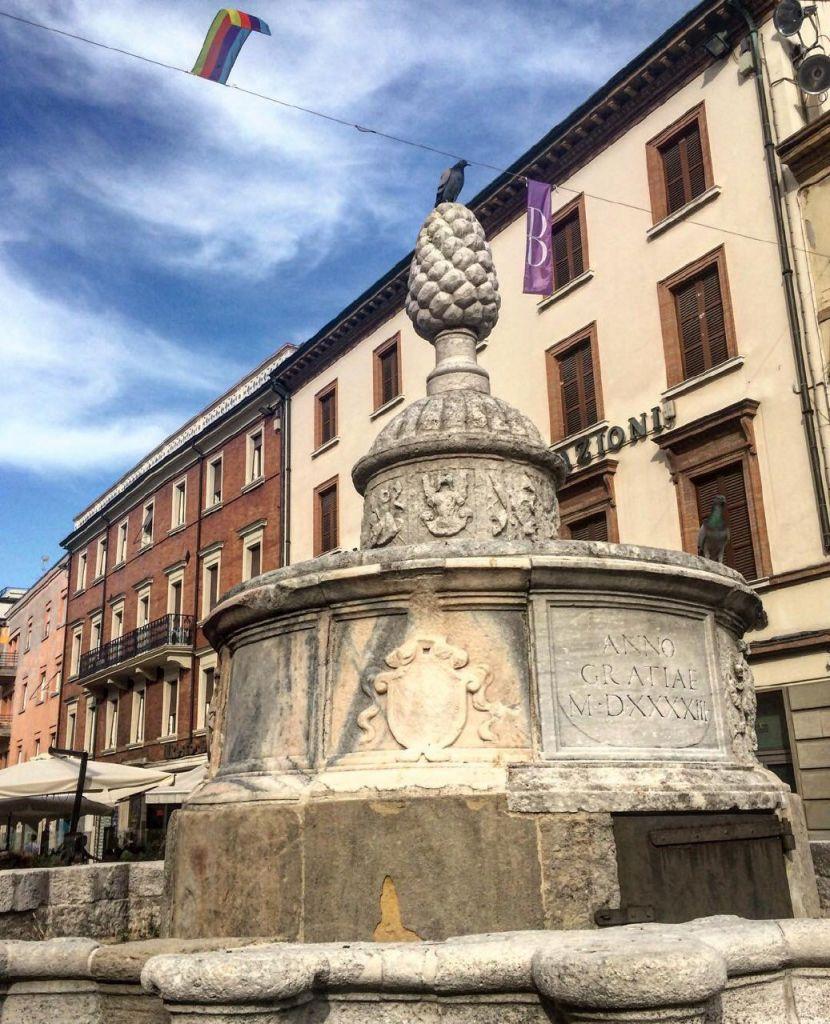 Fontana rinascimentale della Pigna