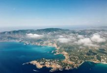 Ibiza foto dall'alto