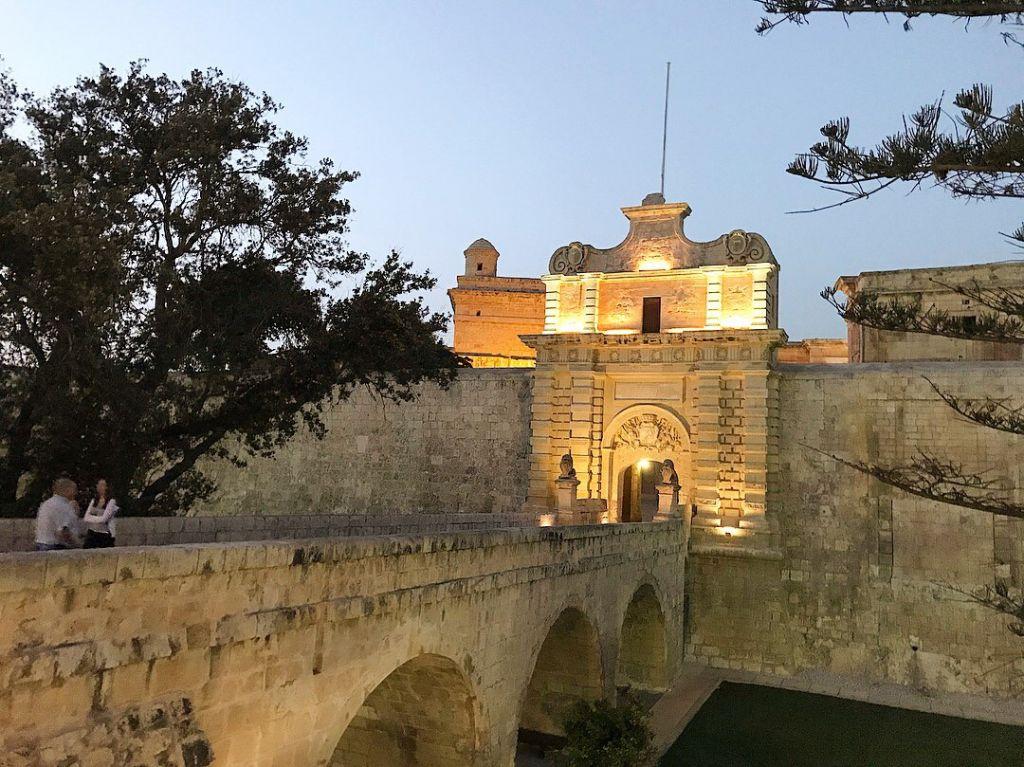 Main Gate Mdina Malta
