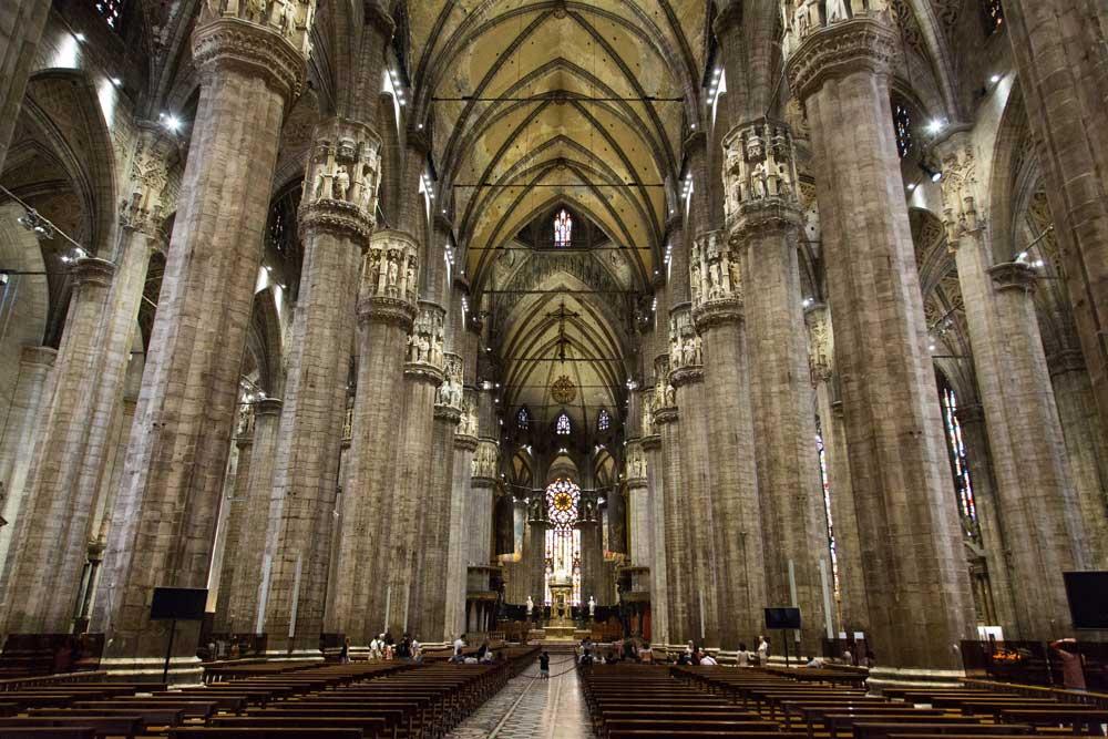 Navata Duomo di Milano - Milano, cosa vedere - Consigliami Dove
