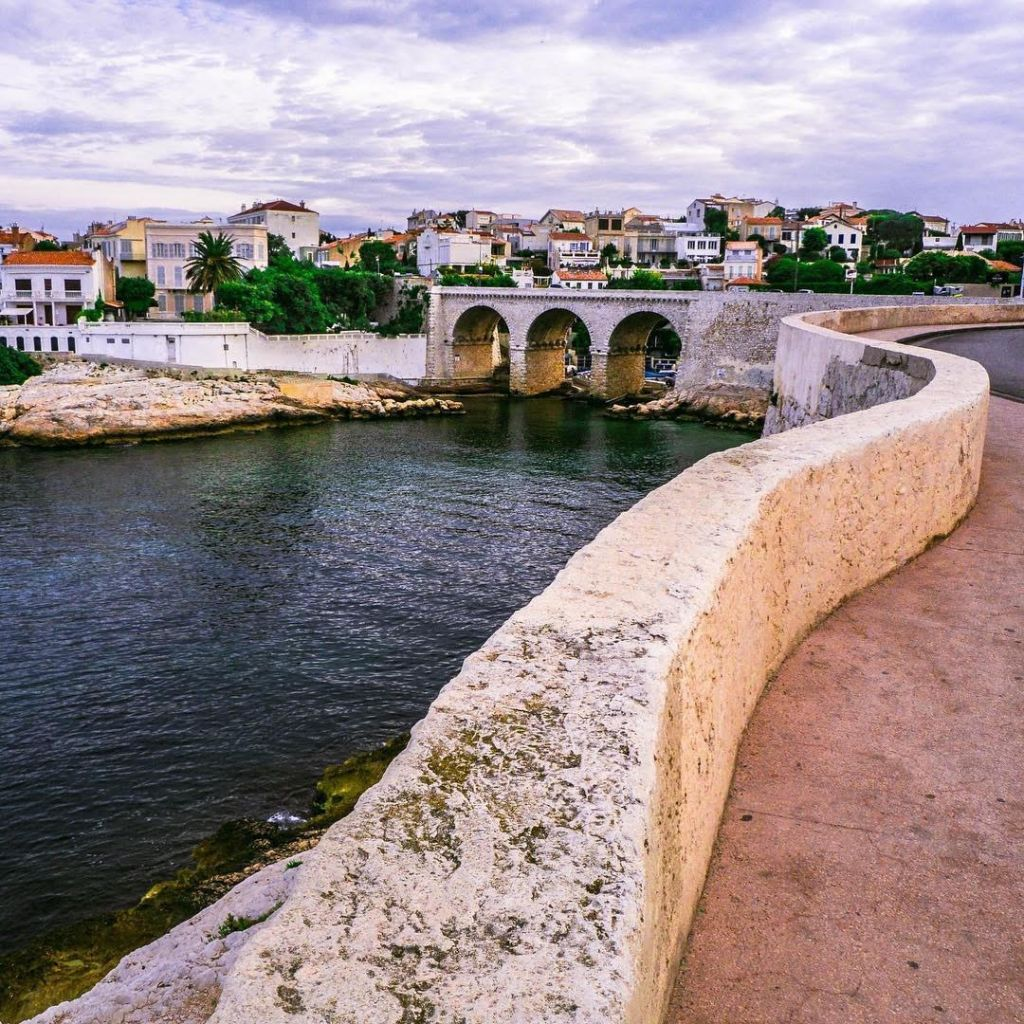 la Corniche Marsiglia
