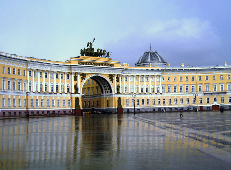 Piazza del Palazzo San Pietroburgo