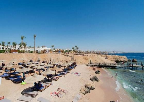 Village Amphoras Sharm El Sheik spiaggia