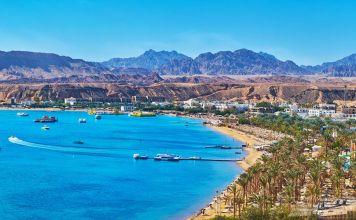sharm el sheik spiaggia