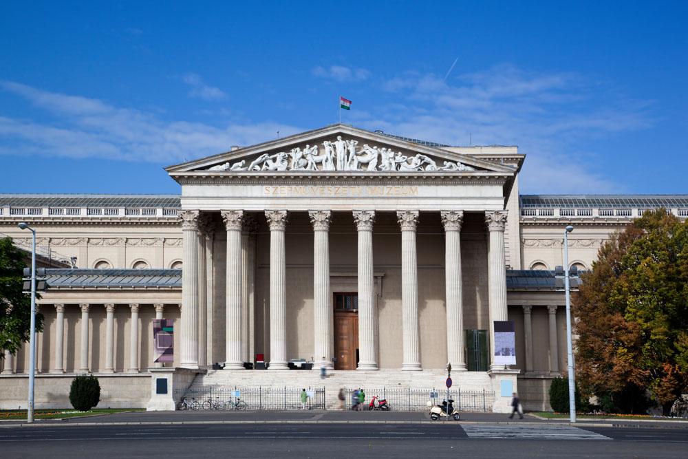 Budapest, museo delle belle arti