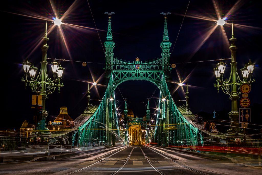 Budapest il ponte delle Libertà