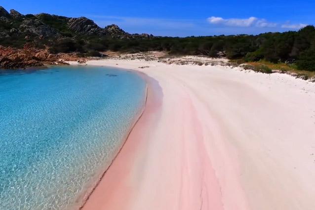Spiaggia rosa de la Maddalena
