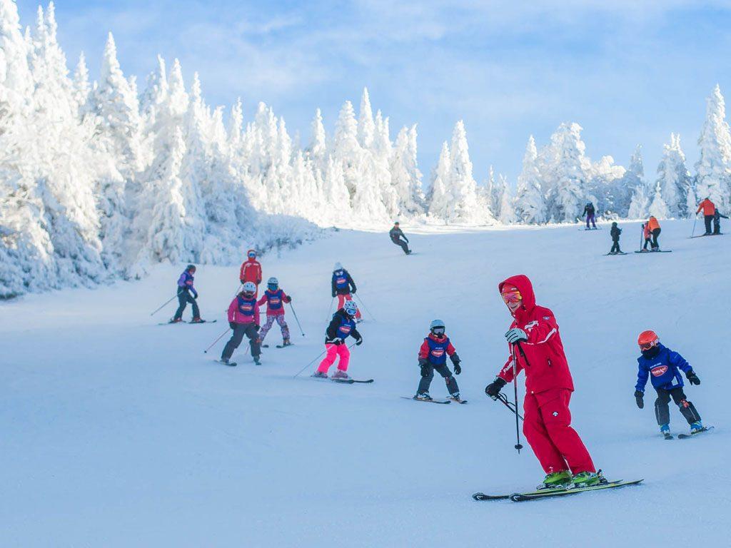 Vacanze sulla neve Bambini