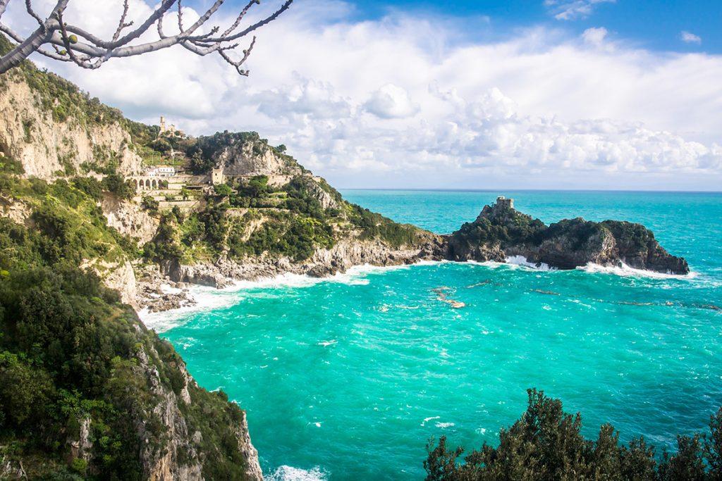 Costiera Amalfitana, Conca dei Marini