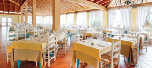 Marina Rey Beach Resort Ristorante Interno