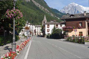 Pré Saint Didier nella Valle d'Aosta