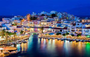 Le principali città di Creta