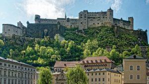 Fortezza di Hohensalzburg a Salisburgo