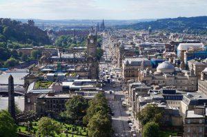Come arrivare ad Edimburgo