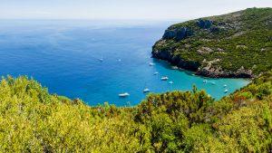 Percorsi di trekking e belvedere di Capraia
