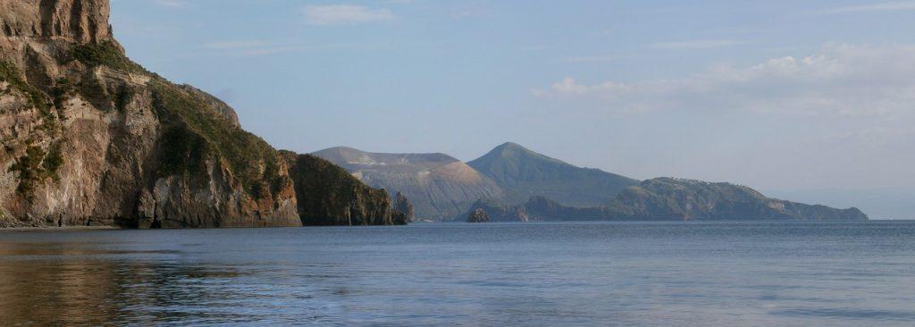 Panorama isola di Vulcano